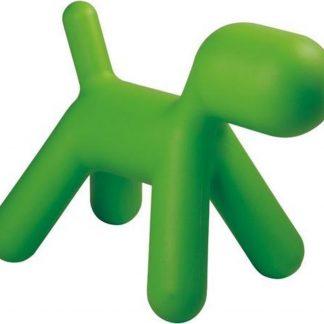 Design kinderstoel Puppy chair klein groen