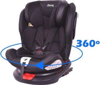 Ding Autostoel Zeno 360 SPS Zwart LTD