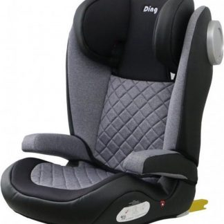 Ding Luca Autostoel 15-36 Kg Zwart Grijs