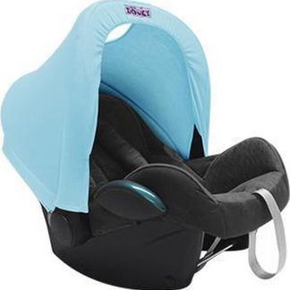 Dooky Hoody Autostoel Zonnekap - Baby Blauw