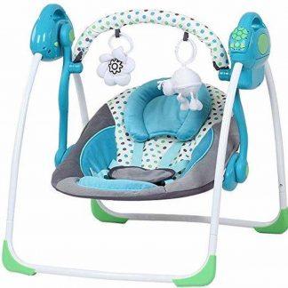 Infantastic babywip babystoel - 3-punts veiligheidssysteem - blauw