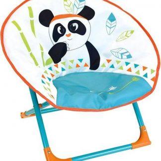 Jemini Kinderstoel Moonchair Panda 52 X 48 X 46 Cm Oranje/blauw