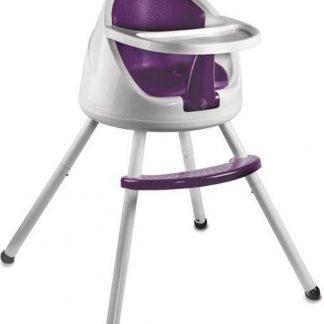KERAEL Kinderstoel Boostito Wit en Paars