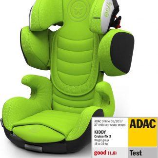 Kiddy Cruiserfix 3 Autostoel Lizard Green