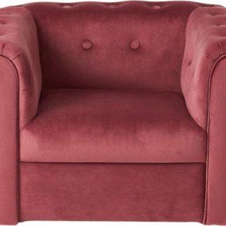 Kids stoel / Kinderstoel / velvet / fluweel / velours / roze / slaapkamer / kinderkamer / decoratie / meisjeskamer
