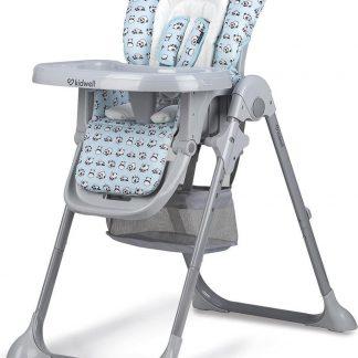 Kidwell Kinderstoel Ami Panda 107 Cm Grijs/blauw