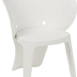 Kinderstoel als olifant (wit)
