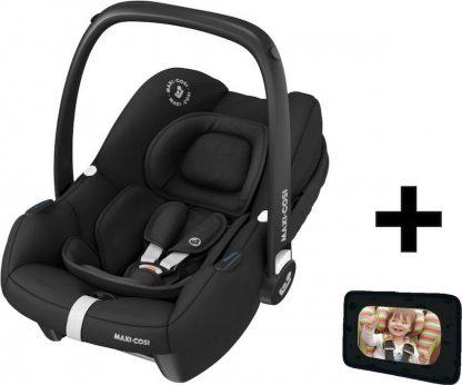 Maxi Cosi Autostoel Tinca Essential Black + Gratis Autospiegel