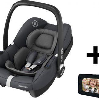Maxi Cosi Autostoel Tinca Essential Graphite + Gratis Autospiegel