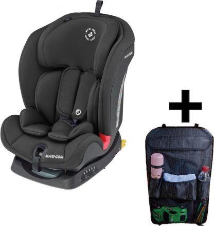 Maxi Cosi Autostoel Titan Basic Black + Gratis Auto Organiser