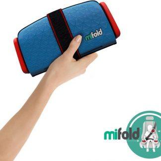 Mifold zitverhoger- De meest compacte zitverhoger- blauw