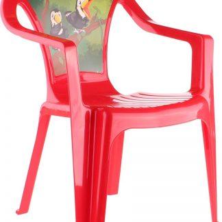 Paradiso Toys Kinderstoel Jungle 51 Cm Rood