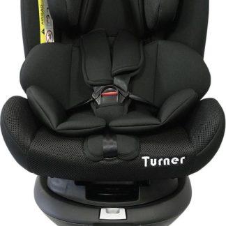 P'tit Chou Turner Autostoel - 360° draaibaar - Zijdelingse Impactbescherming - Steunpoot
