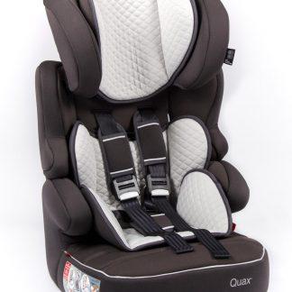 QUAX Autostoel Beline Black-silver (gr 1/2/3)