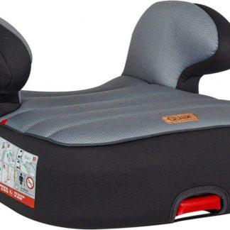 Quax Dreamy Easyfix- Autostoel / Zitverhoger / Booster - Black/grey - visgraatmotief - Groep 2/3 met ISOFIX