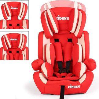 Sens Design Autostoeltje - Kinderstoel - Rood/Wit