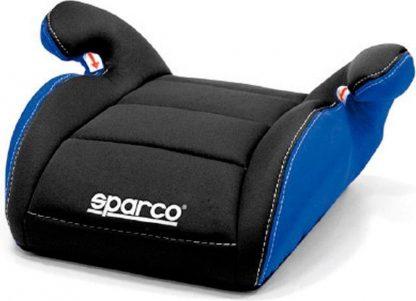 Sparco zitverhoger F100 Zwart/Blauw 15 tot 36 kg, 4 t/m 12 jaar (E1)