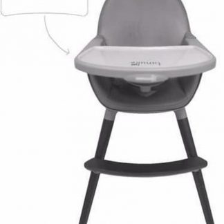 TANUKI Basic kinderstoel Black Edition - Mixed Baby - Ergonomisch - 2 standen