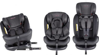 Xadventure Quickfix Autostoel - Zwart