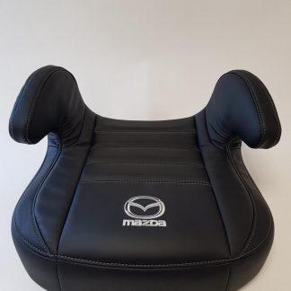 Zitverhoger leer, Zwart, Mazda