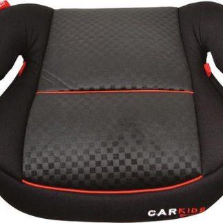 Auto Zitverhoger - Autozitje - Kinderzitje - Zwart/Rood - Groep 2 en 3