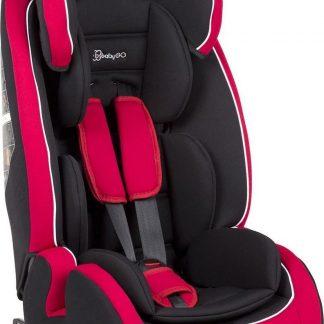 BabyGO autostoel Free IsoFix Rood (9-36kg)