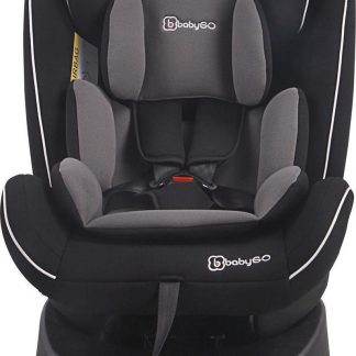 BabyGO autostoel Nova 360° met isoFix Zwart (0-36kg)