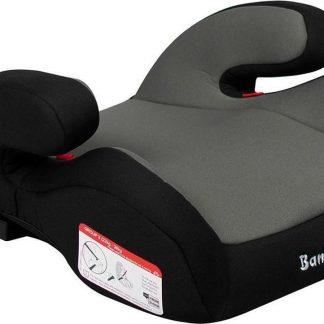 Booster - Zitverhoger Baninni Robu met isoFix Grijs (22-36kg)