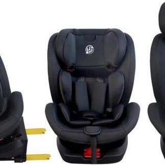 Hibaby Easyfix Autostoel 360° - Zwart