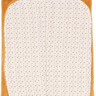 Snoozebaby Wikkeldeken Trendy Wrapping - Oekotex materiaal - geschikt voor alle autostoelen groep 0 - 90x110cm - Bumblebee oker