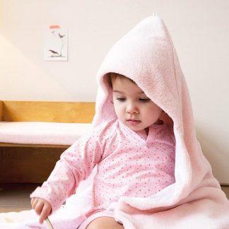 Snoozebaby Wikkeldeken Trendy Wrapping - Oekotex materiaal - geschikt voor alle autostoelen groep 0 - 90x110cm - Orchid Blush roze