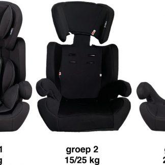 Cabino Autostoel 9-36kg - Zwart-Grijs