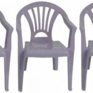 3x Kinderstoelen paars - tuinmeubels- stoelen voor kinderen - stoel kind - L&B luxurys