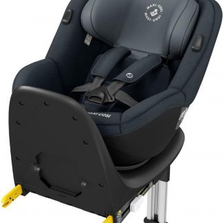 Maxi Cosi Mica Up Autostoeltje - Groep 1 - 360° Draaibare Autostoel met ISOFIX base - Graphite (grijs)
