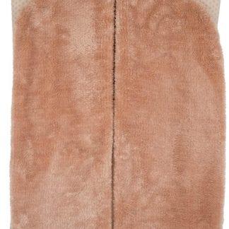 Snoozebaby Wikkeldeken Trendy Wrapping - organic katoen - geschikt voor alle autostoelen groep 0 - 90x110cm - Milky Rust zachtroze