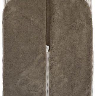 Snoozebaby Wikkeldeken Trendy Wrapping - organic katoen - geschikt voor alle autostoelen groep 0 - 90x110cm - Warm Brown bruin