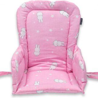 Stoelverkleiner voor kinderstoel - Nijntje ster - Roze