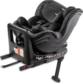 Twisty i-Size Autostoel 360 graden draaibaar (0 - 18kg) BLACK