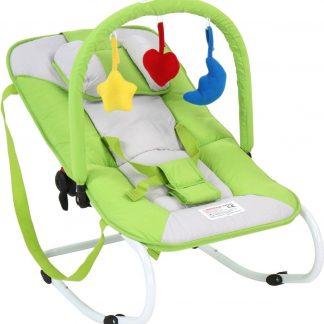Wipstoeltje - kinderstoel - babyschommelstoeltje - green