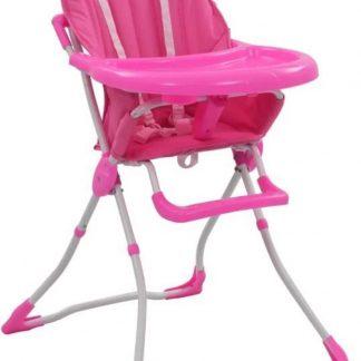 inklapbare kinderstoel rose - kinderstoeltje voor kind - peuterstoel - meisje - kinderzetel - kinderstoeltje - stoel baby - L&B luxurys