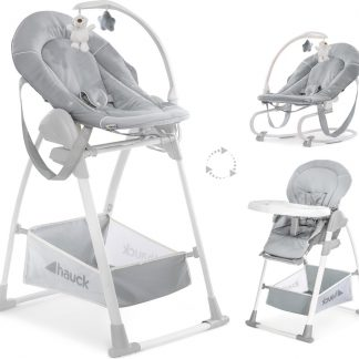Hauck Sit N Relax 3 in 1 Kinderstoel - Stretch Grey