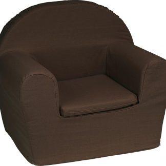 KidZ ImpulZ - Peuterstoeltje - Kinderfauteuil - Kinderstoel - Kinderzetel - Kindersofa - Kraamcadeau - 0 tot 5 jaar - Donkerbruin