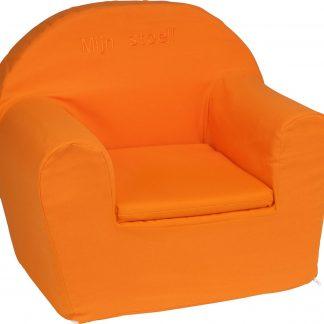 KidZ ImpulZ - Peuterstoeltje - Kinderfauteuil - Kinderstoel - Kinderzetel - Kindersofa - Kraamcadeau - 0 tot 5 jaar - Oranje