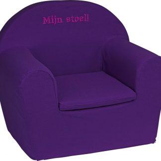 KidZ ImpulZ - Peuterstoeltje - Kinderfauteuil - Kinderstoel - Kinderzetel - Kindersofa - Kraamcadeau - 0 tot 5 jaar - Paars