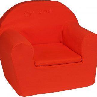 KidZ ImpulZ - Peuterstoeltje - Kinderfauteuil - Kinderstoel - Kinderzetel - Kindersofa - Kraamcadeau - 0 tot 5 jaar- Rood