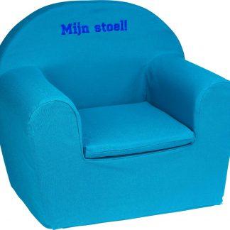 KidZ ImpulZ - Peuterstoeltje - Kinderfauteuil - Kinderstoel - Kinderzetel - Kindersofa - Kraamcadeau jongen - 0 tot 5 jaar - Aqua