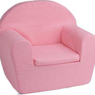 KidZ ImpulZ - Peuterstoeltje - Kinderfauteuil - Kinderstoel - Kinderzetel - Kindersofa - Kraamcadeau meisje - 0 tot 5 jaar - Roze