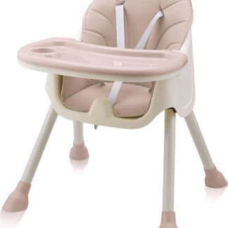 Kinderstoel - 2in1 - Roze - Handig