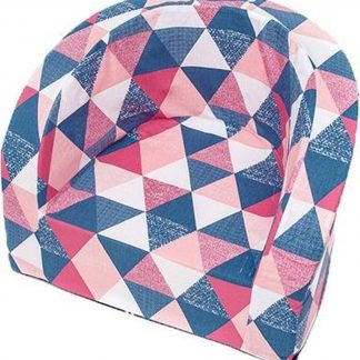 Kinderstoel - kinderzetel - pink- blauw - patroon - meisjes - jongens - kindermeubels - kindermeubelen tafel en stoeltjes