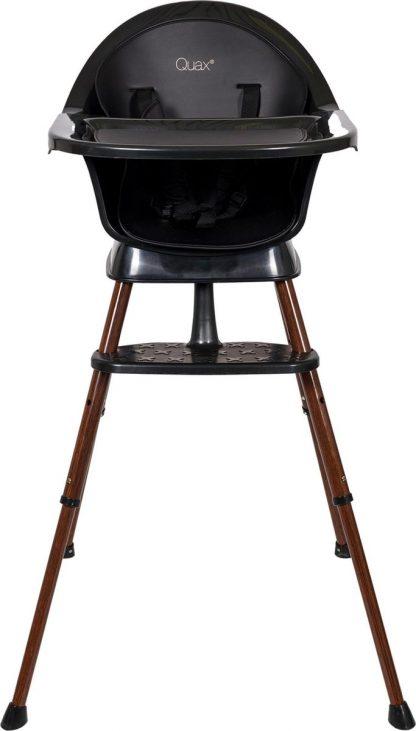 Quax Kinderstoel Ultimo 3 Meegroeistoel - Black/walnut